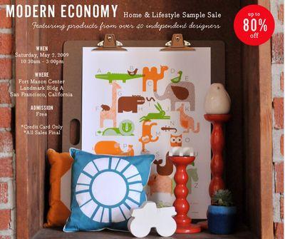 Modern Economy sample sale