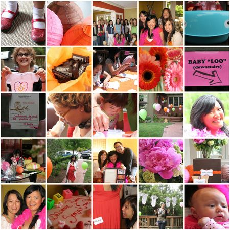 Baby Shower Mosaic