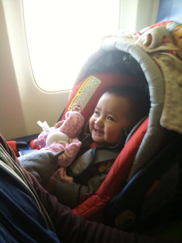 Seattle plane trip
