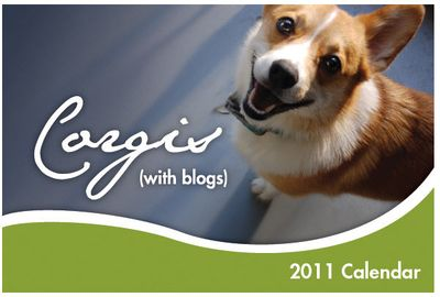 Corgis with blog cover 2011