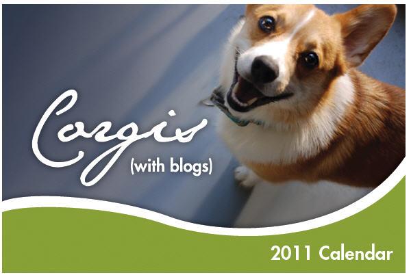 Corgis with blog cover 2011